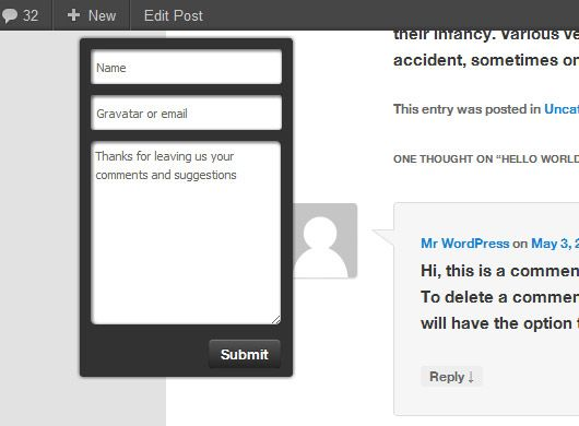 Floating Comments: Help Your Site Visitors Comment Wherever They Are On Your Webpage comments2