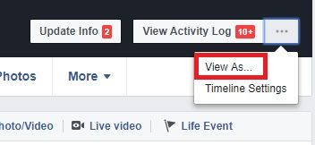 The 10 Best Hidden Facebook Tricks You Should Make Use Of facebook view as