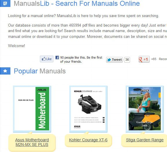 manualslib   ManualsLib: Get User Manuals For A Variety Of Products
