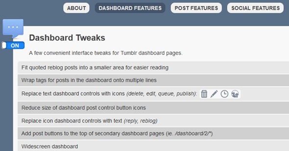 tumblr browser add on