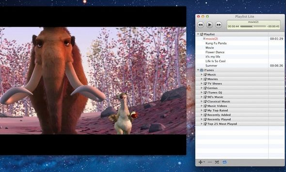 create playlists quicktime