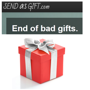 End Of Bad Gifts: Use SendAsGift To Make Sure Your Friends & Family Love Your Gifts