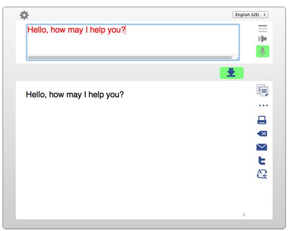 online speech to text service