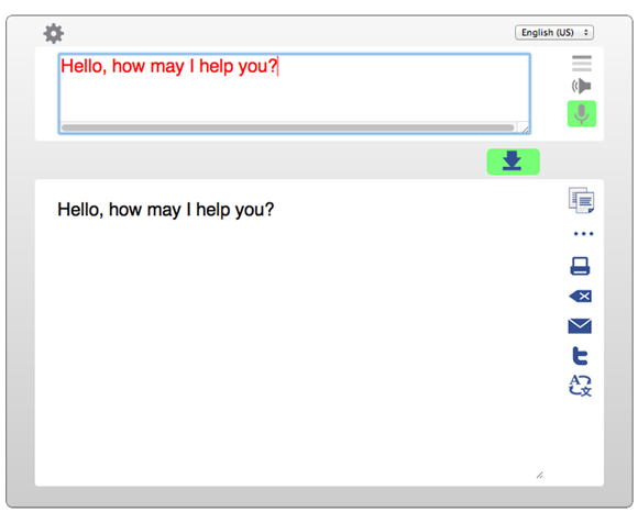 talktyper 2   TalkTyper: Online Speech To Text Service