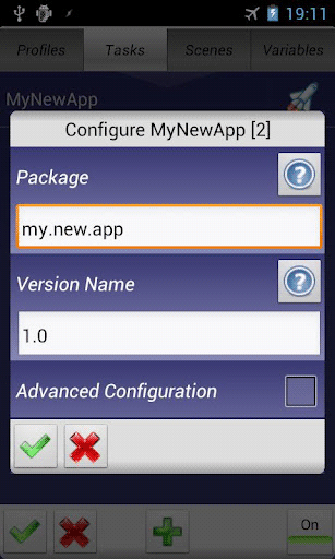 automated tasks android