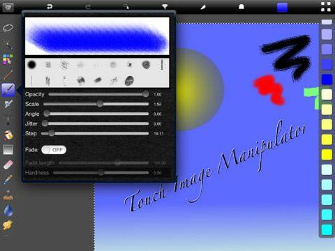 touch image manipulator