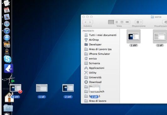 cut files folders mac
