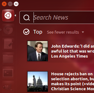 Search News, Torrents, Spotify & More On Ubuntu's Dashboard [Linux]