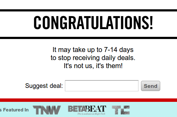 daily deal email strategy
