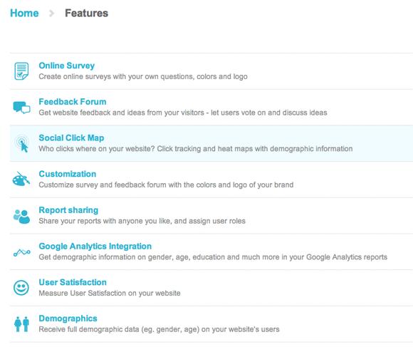 get feedback for your website