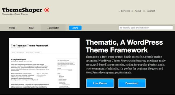 free wordpress frameworks