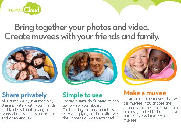 share videos photos private