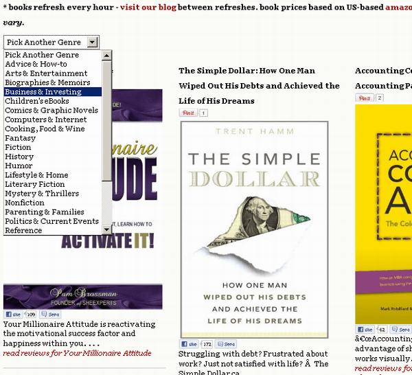 find discounted kindle books