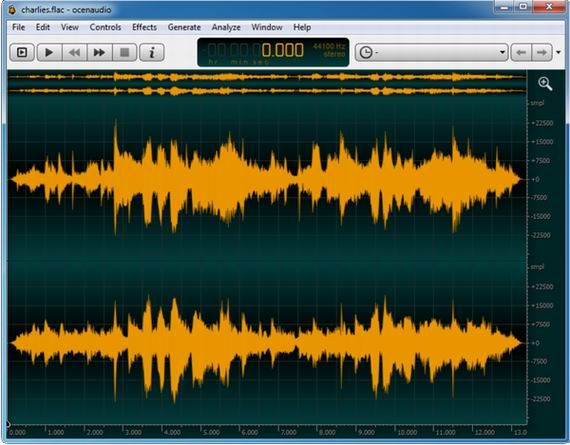 18   Ocenaudio: Cross platform, Fast & Functional Audio Editor