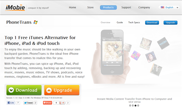 transfer music files pc iphone without itunes