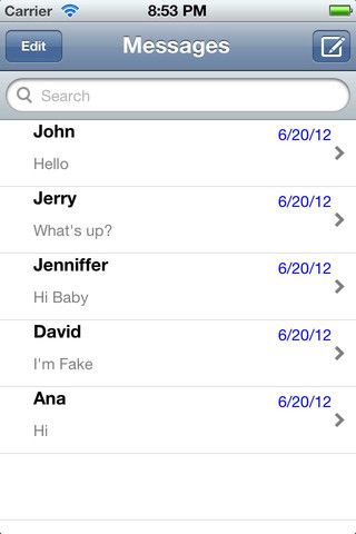SMS Faker: Show Fake SMS Conversations on Your iPhone 21