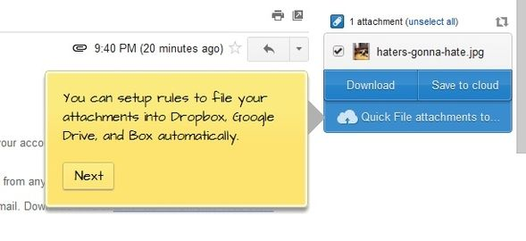 Liberate Your Gmail Inbox Attachments With Attachments.me 7 Attachments