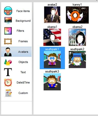 Avatars   WebCamEffects: Add Cool Effects To Your Webcam Feed [Windows]