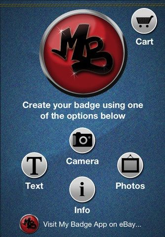 create photo badges