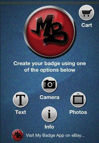 create photo badges
