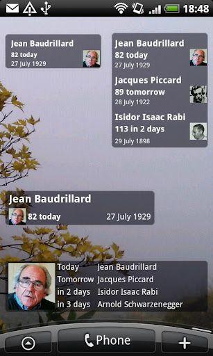 Birthdays app 2   Birthdays: Birthday Reminders For Friends & Celebrities [Android]