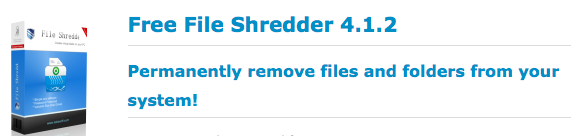permanently remove files