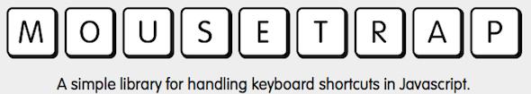 keyboard shortcuts in javascript