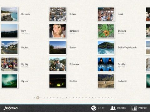 Jetpac: View The Travel Photos Of Your Facebook Friends [iPad] Photos