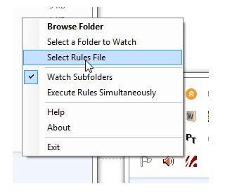 automatically organize files
