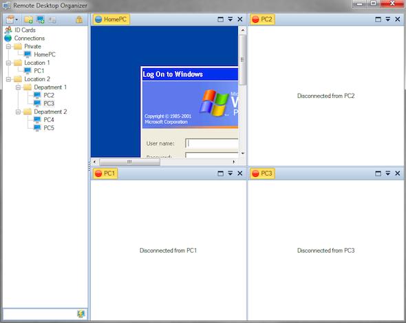 Remote Desktop Organizer: Control Your Remote Connections via Folders Remote Desktop 2b