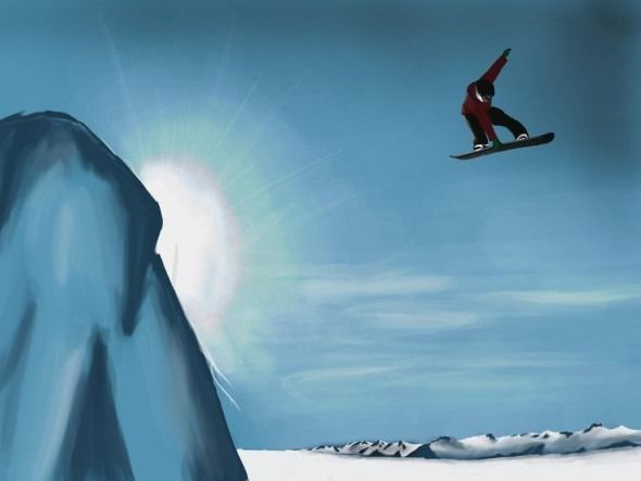 snowboarding wallpaper desktop