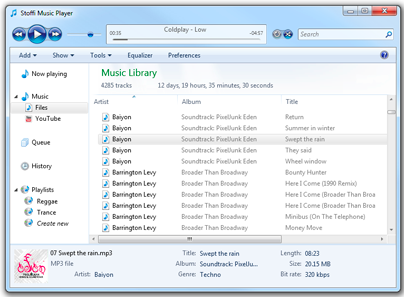 open source music player windows