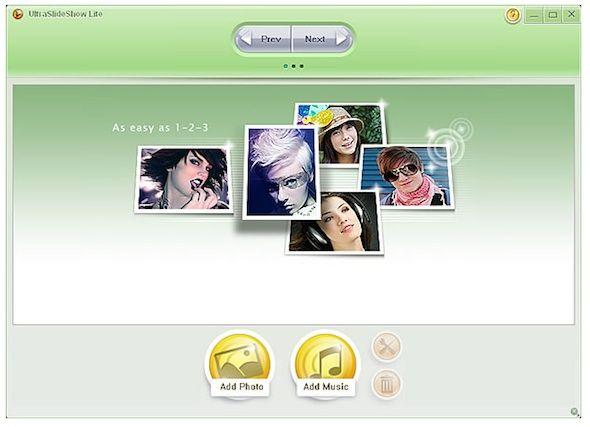 create free flash slideshows