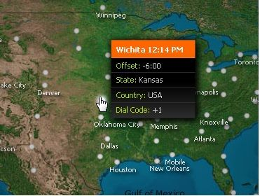 Wichita   Advanced World Clock: An Interactive Map With Times Of Different World Regions