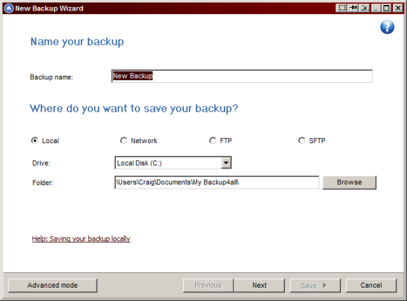 Backup4all Pro: A Complete Solution to Windows Backup [Giveaway] b4a2