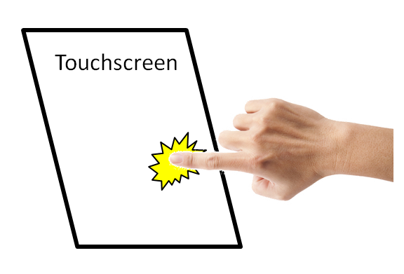 capacitive touchscreens