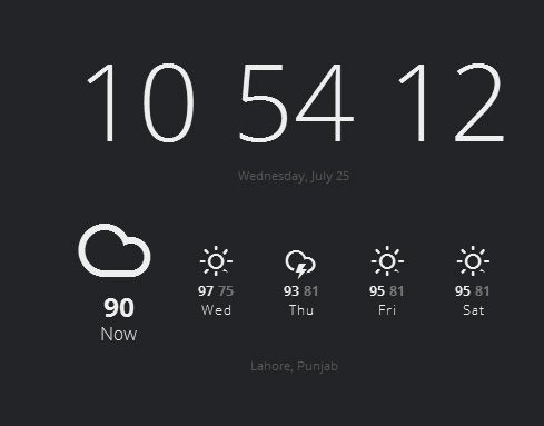 currently   Currently: Replace New Browser Tab With Weather & Current Time [Chrome]