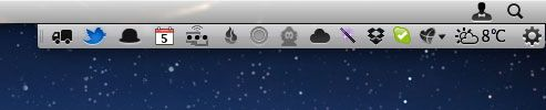 mac menu bar