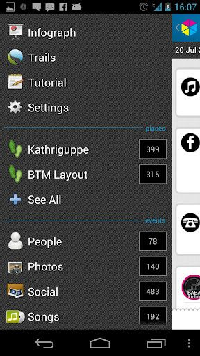 friday   Friday: A Phone App To Record Your Phone & Networking Activity [Android 2.2+]