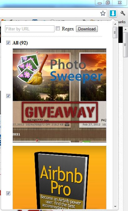 download all images from a webpage