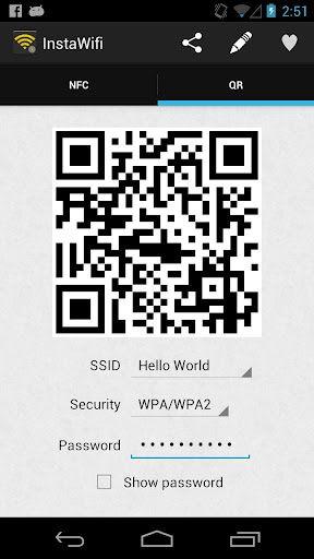 qr codes wifi