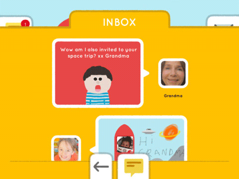 maily 2   Maily: Safe E Mail App For Kids [iPad]