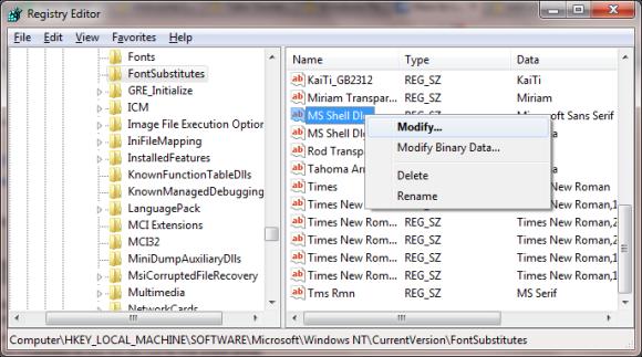 Use the Registry Editor to tweak the Windows 7 login screen