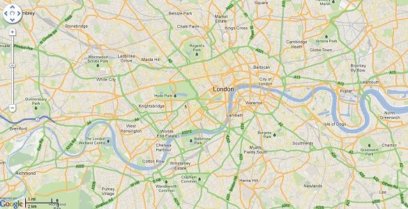 10 Essential Websites For Visiting London my london map