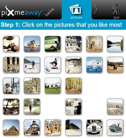 pixmeaway   PixMeAway: Get Vacation Suggestions Based On The Travel Photos You Like