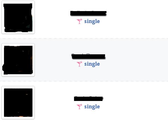 find relationship status on facebook