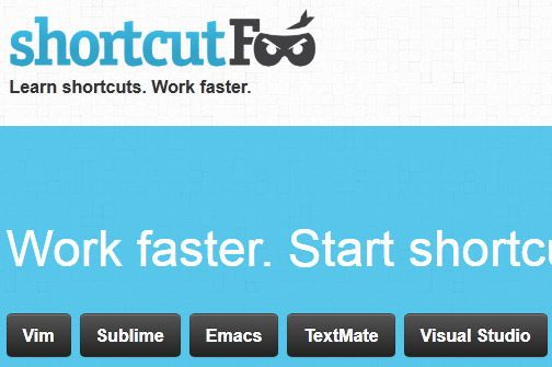 learn keyboard shortcuts