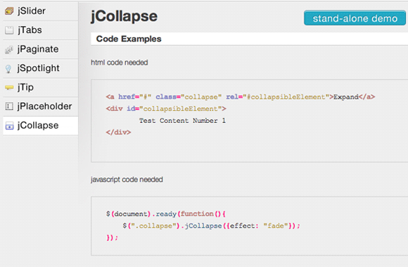 cool js effects