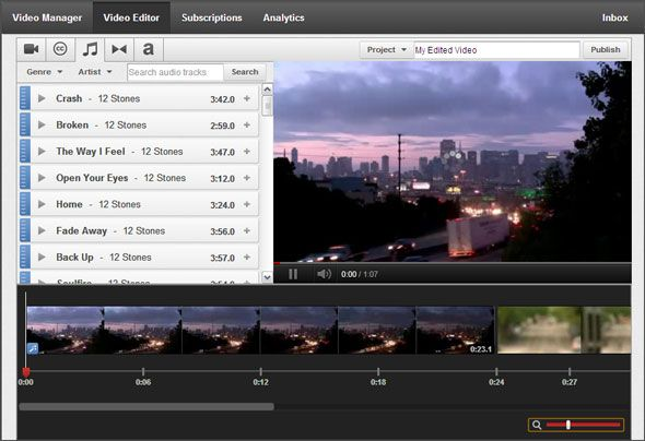 4 Free Tools For Online Video Editing video editing01