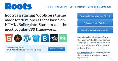 free wordpress framework